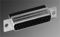 D-Subminiature Hi-Density Crimp Connectors – DC3 Series