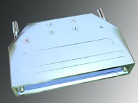Two Piece Metal Straight Exit Cover with Dual Strain Relief