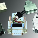 D-Subminiature Connector Covers
