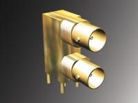 BNC Right Angle Mini Dual Port – Shielded